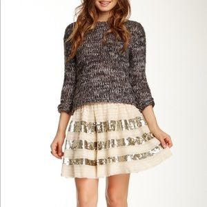 Free People sparkle skirt NWT size M